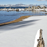 Snow Zypher Cove Lake Tahoe winter california