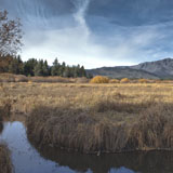 lake tahoe truckee marsh river mout tallac california winter
