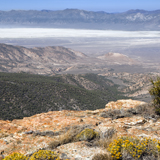 Big Smokey Valley Nevada from Toquima range